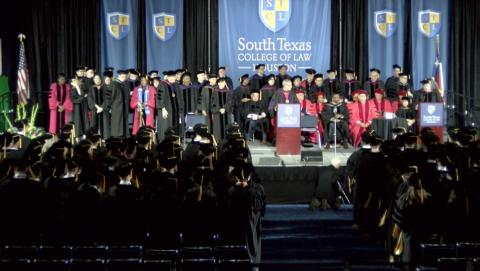05/25/19 SOUTH TEXAS COLLEGE OF LAW HOUSTON GRADUATION